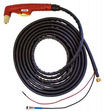 Плазменный резак «AURORA PT50 (2pin.3/8G)» с кабель-шлангом.