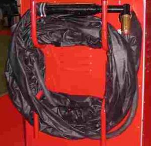 Кабель-шланговый пакет «КШ3-Р-10» длиной 10 м в состоянии поставки.
