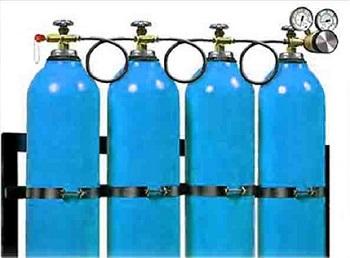 Газораспределительная кислородная рампа.
