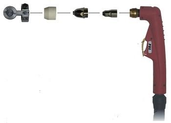 Схема плазменного резака «AURORA P80».